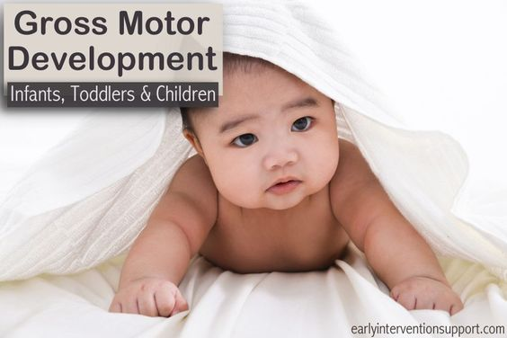 Baby grows child development and infants on pinterest for Motor skills development in early childhood