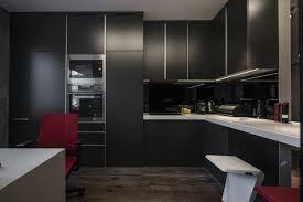 """Résultat de recherche d'images pour """"cuisine melange noir mat noir laque"""""""