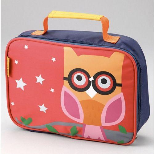 Owl lunch bag.