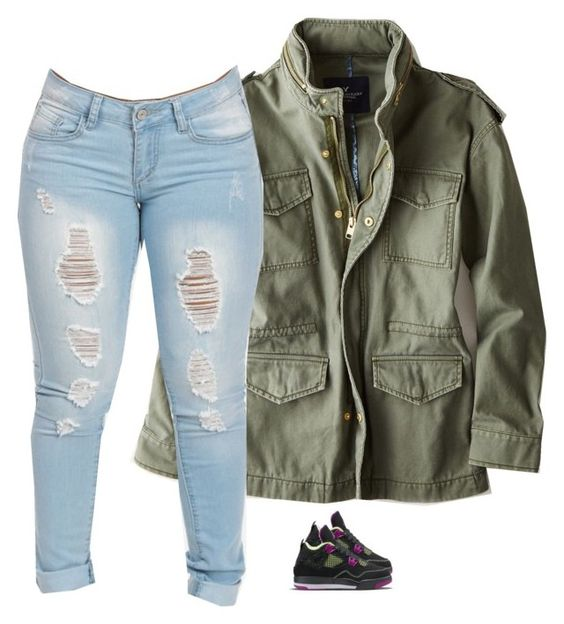 """""""Untitled #665"""" by prettygirlnunu ❤ liked on Polyvore featuring American Eagle Outfitters"""