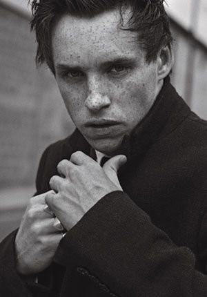Eddie Redmayne..... okay this may be mean but parker and I call him frog man because his lips and voice remind us of frogs. Lol he is a good actor we just did not like his voice in le mis.