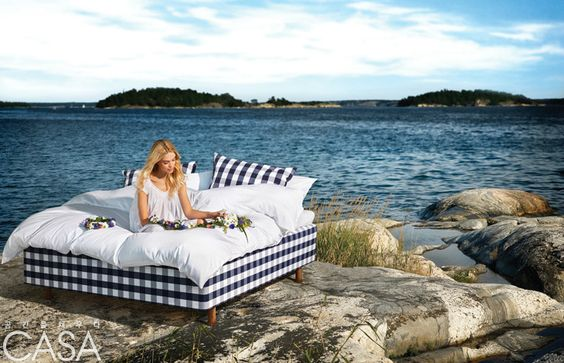 스웨덴의 명품 수제 침대 브랜드 해스텐스(Hästens)의 뉴 컬렉션