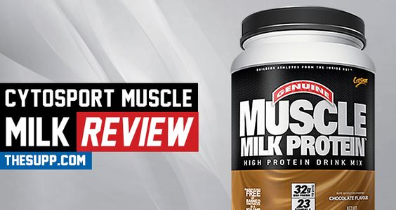 Cytosport Muscle Milk Review