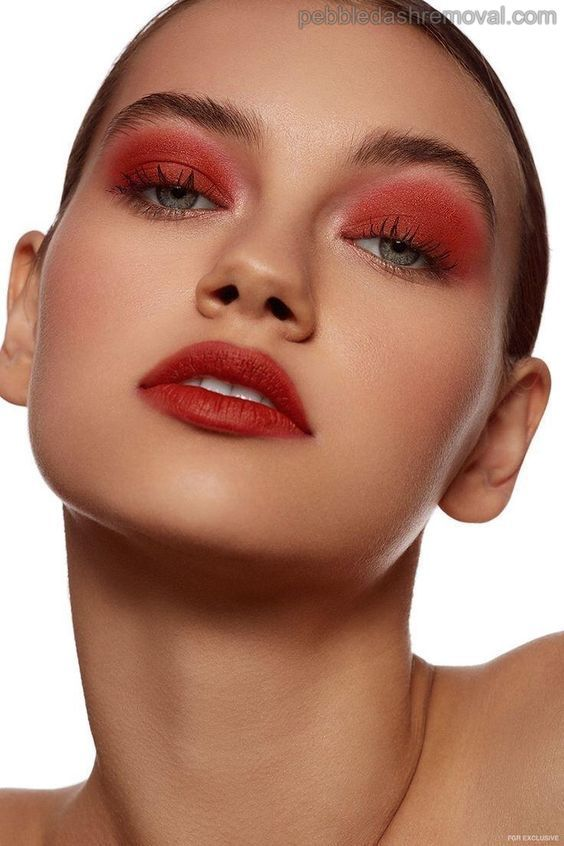 Very Best Way To Remove Eye Makeup Red Eyeshadow Makeup Eyeshadow Makeup Red Eyeshadow Look