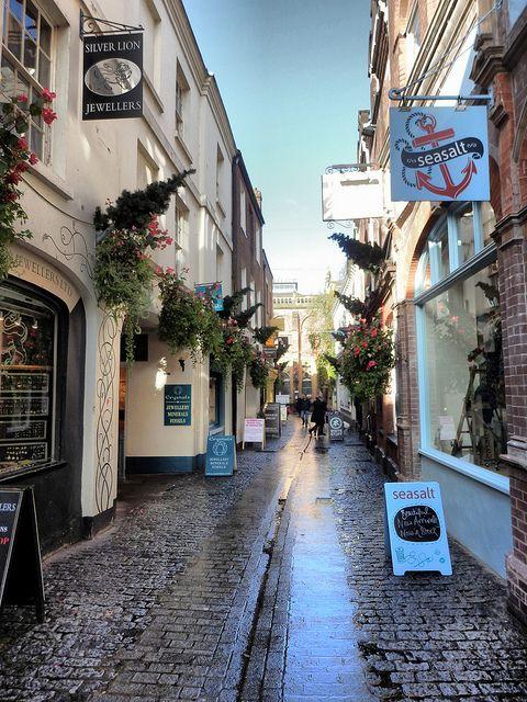 Gandy Street, Exeter, Devon, England
