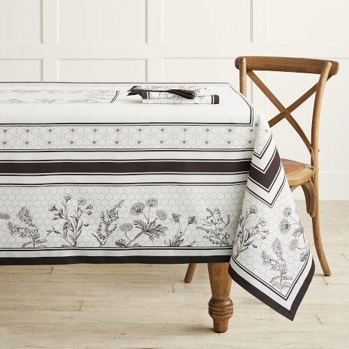 Honeycomb Tablecloth 70 X 126 Williams Sonoma In 2020