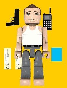 Die Hard Palz Mini Figures John McClane - The Movie Store