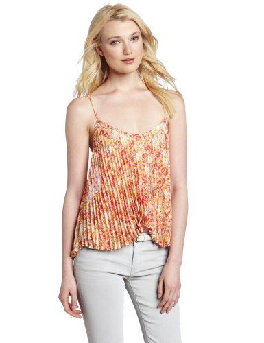 BCBGeneration Women's Sunburst Cami Shirt