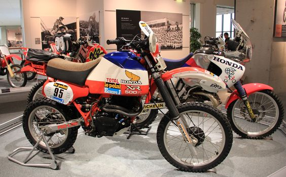 1982 honda xr500r paris dakar rally enduro pinterest. Black Bedroom Furniture Sets. Home Design Ideas