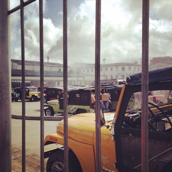 Terminal de transporte jeep