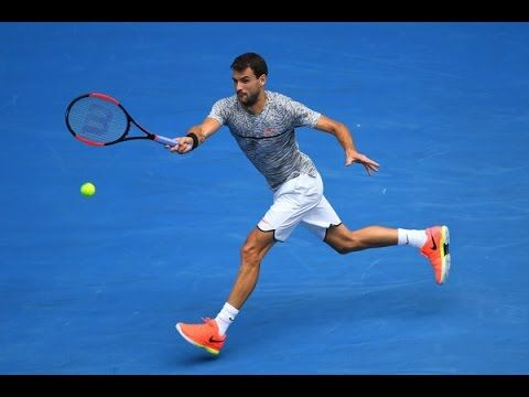 8 Grigor Dimitrov Forehands In Slow Motion 2017 Tennis Youtube Tennis Motion Youtube