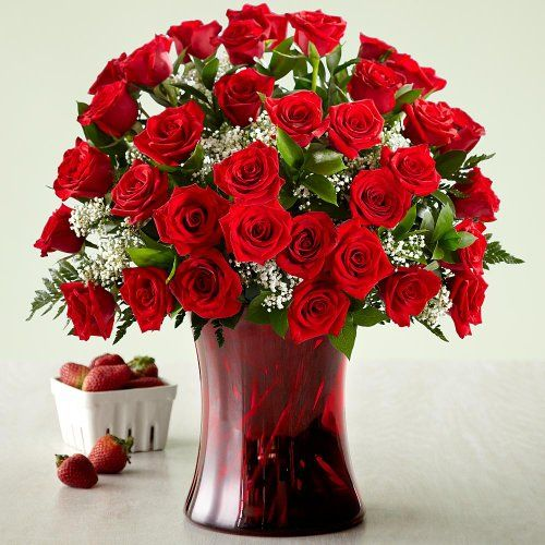 Three Dozen Long Stemmed Red Roses wi... $74.95