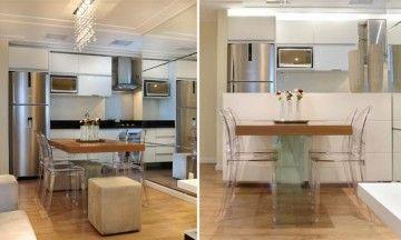 decoracao de cozinha de apartamento pequeno