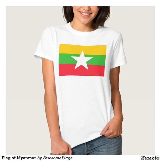 Flag of Myanmar Shirt