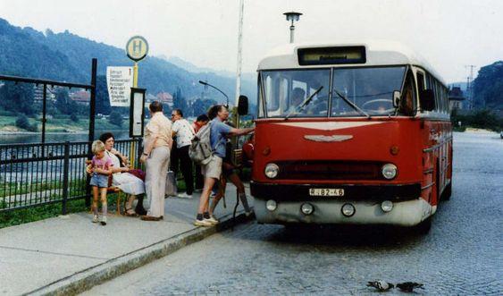 Bad Schandau, Ikarus Bus ~~~   http://www.abacho.de/wp-content/uploads/Bad_schandau_ikarus.jpg