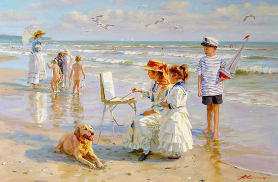 https://flic.kr/p/9gofTY | Alexander Averin -  Russian artist - Young Artist