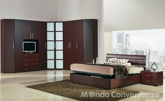 Zen - Camere da letto - Moderno - @Mondo Convenienza  Home Decor  Pinterest  Zen, Storage and ...