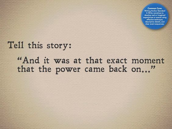 tell this story