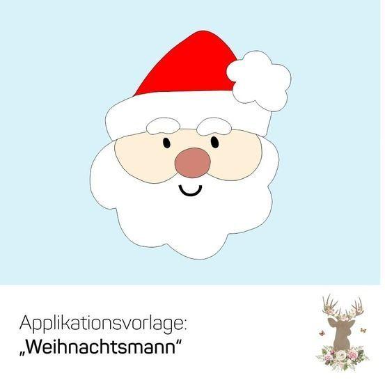 Malvorlage Fur Weihnachten Weihnachtsmann Kopf