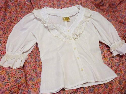 vintage gunnies blouse