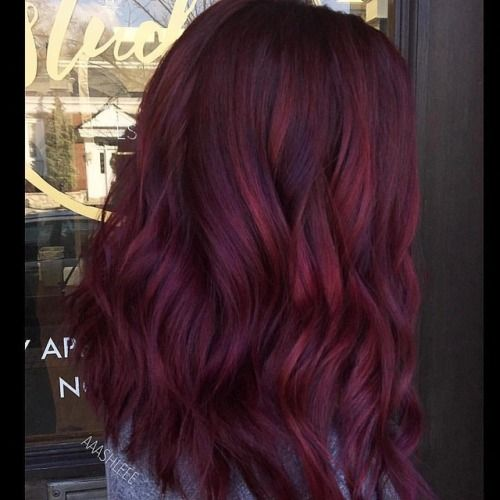 Photo Tumblr Hair Styles Burgundy Hair Wine Hair
