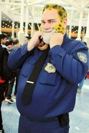 Resultado de imagen para officer clawhauser costume for kids