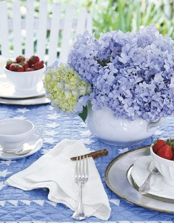 Spring Centerpieces and Table Decorations - Spring Table Settings - Country Living on we heart it / visual bookmark #502505