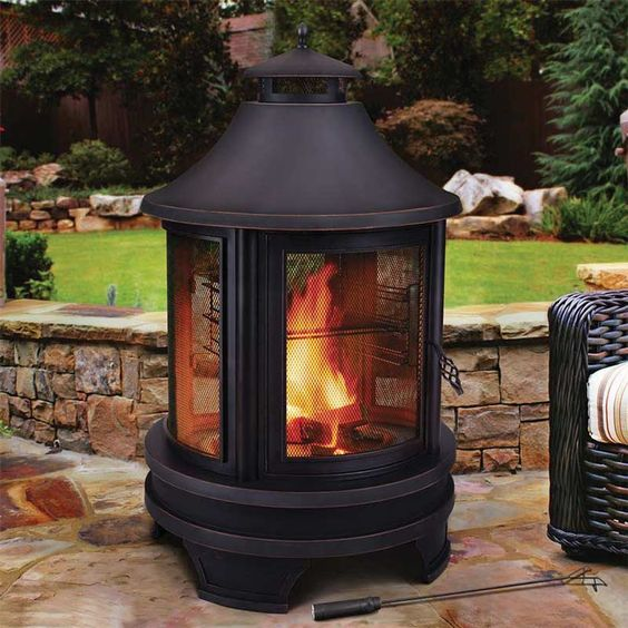 Outdoor Cooking Fire Pit. This Links To Costco UK Site