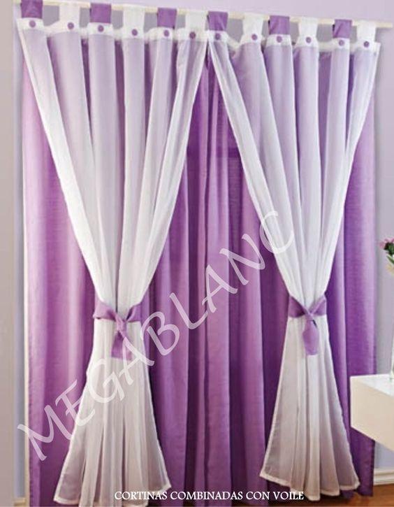 Decoracion cortinas para sala comedor cortinas - Decoracion de comedor ...