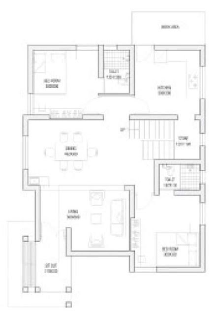 Cost Effective 4 Bedroom Modern Home In Low Budget Free Plan Free Kerala Home Plans Budget House Plans 2bhk House Plan Low Cost House Plans Home plan low cost