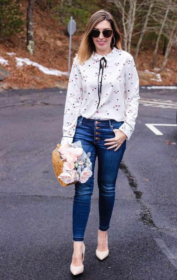 Charming Denim Outfits