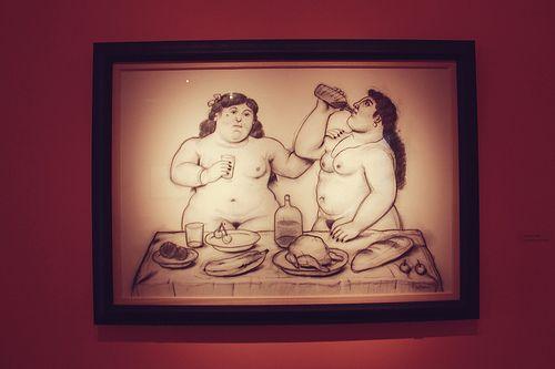 Botero at el Museo de Bellas Artes in Buenos Aires, Argentina