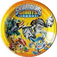 assiette Skylanders giants