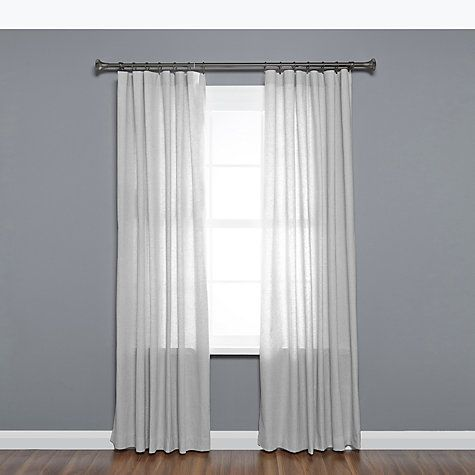 Buy Umbra Ella Extendable Curtain Pole Kit Dia 25mm Pewter
