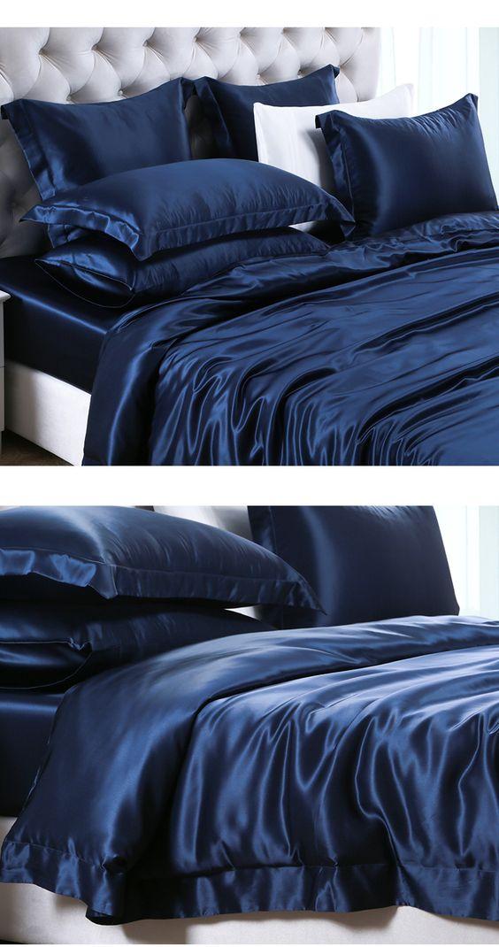 silk bedroom sets discount silk sheets     https://www.snowbedding.com/