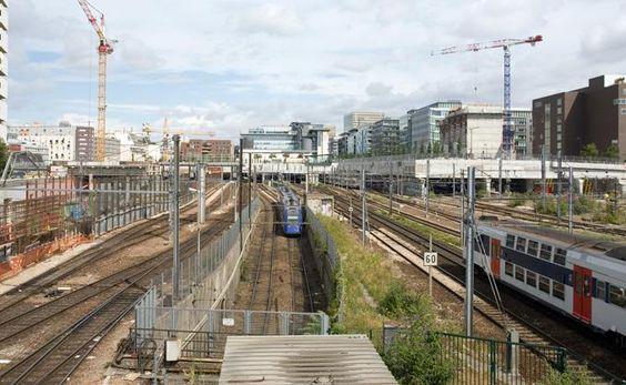 Gare RER - vers Paris rive gauche / Tolbiac