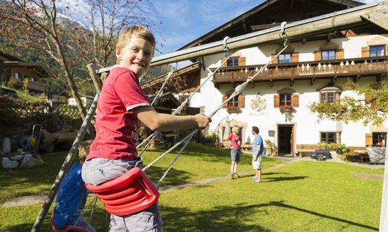 Apartpension Almhof - Reithof Pitztal Reiter - Pitztal , Tirol