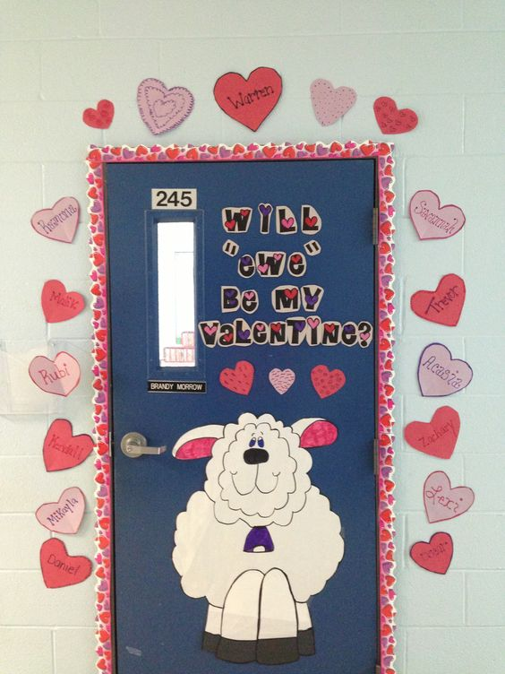 Classroom Decoration For Valentines : Valentine classroom door bulletin boards
