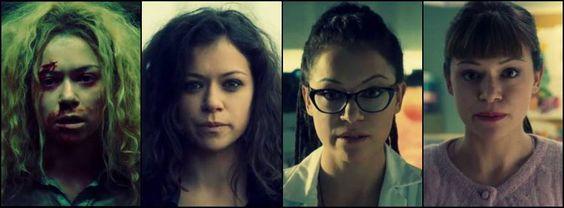 Helena, Sarah, Cosima, Alison