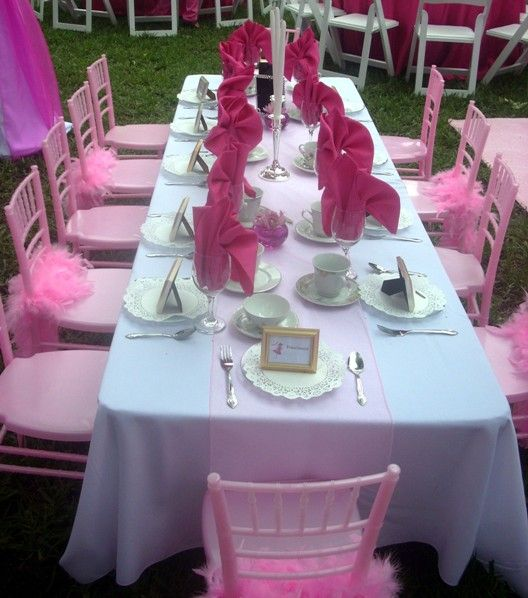 princess pink chiavari chairs (excited that Sweet Seats is getting these in time for Spring)