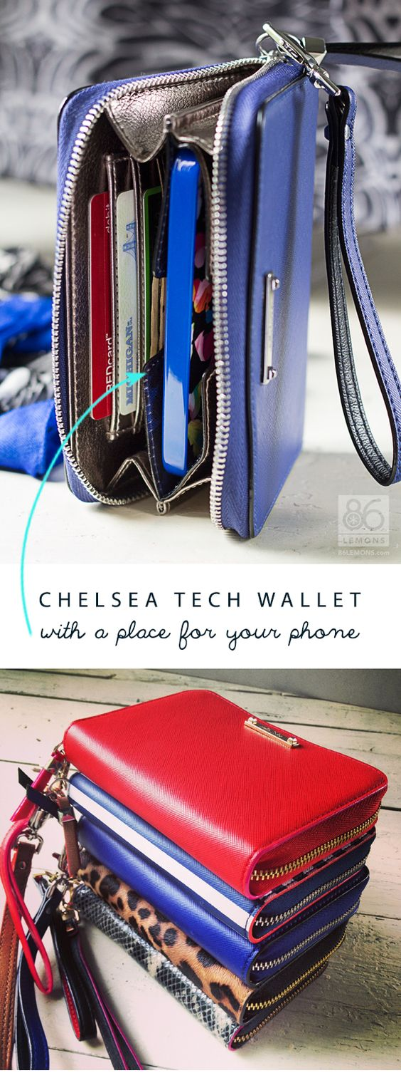 Chelsea Tech Wallet #stelladot  repin for a chance to win or shop now at www.stelladot.com/raygenlivingston:
