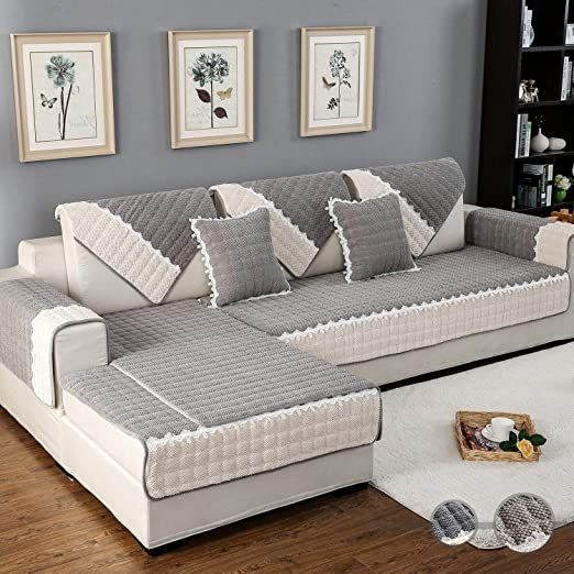 L Shaped Sectional Couch Covers Efistu Com In 2020 Couch Covers Sectional Couch Cover Cool Couches