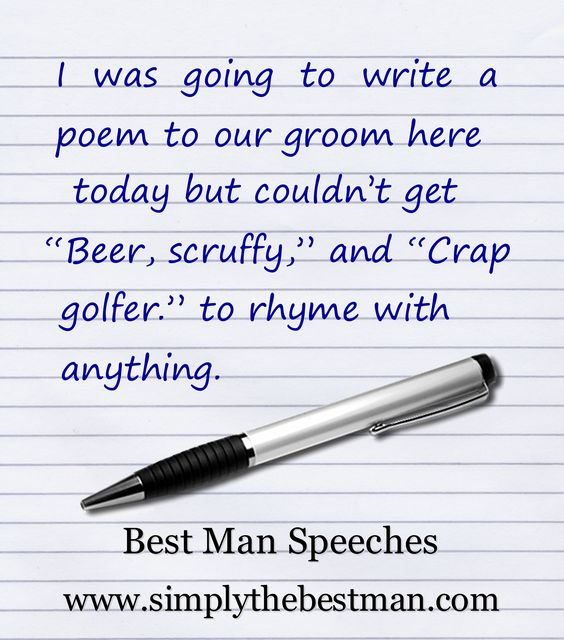 Humorous speech essay