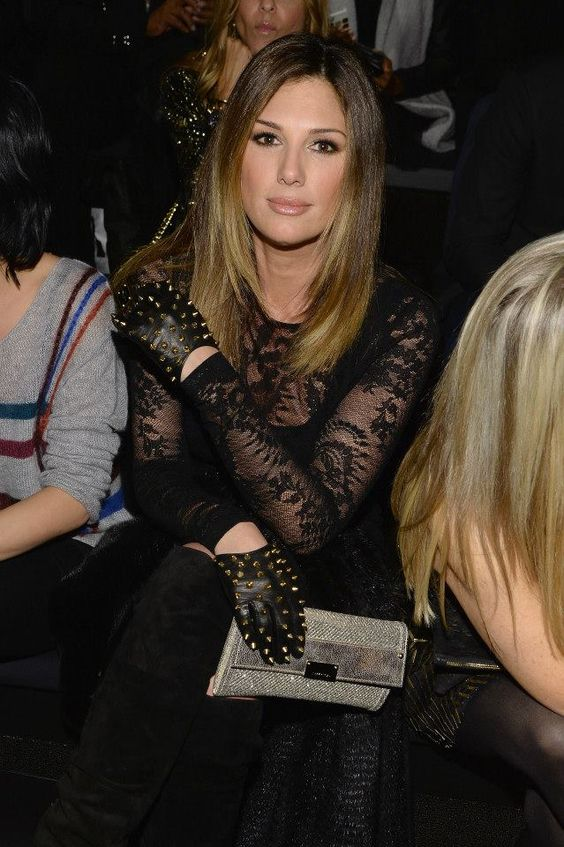 Mercedes-Benz Fashion Week #Day2 #RoundUp #MBFW #FW14 Daisy Fuentes attends the @Nicole Novembrino Novembrino Novembrino Miller fashion show.