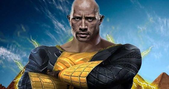 Dwayne Johnson as Shazam nemesis Black Adam