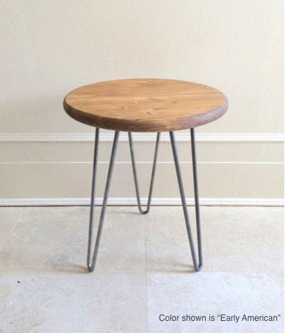 Wood Stools, Hairpin Stool, Modern Chairs, Wood Chair, Foot Stool, Ottoman, Dining Chairs, Set of Matching Wood Stools, Wood & Metal Stool: