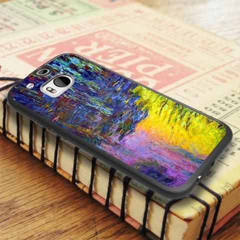 Painting Art Abstract Full Color HTC One M8 Case