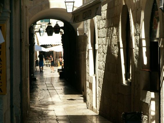 Stepping back in time wandering through the hidden lanes of Dubrovnik