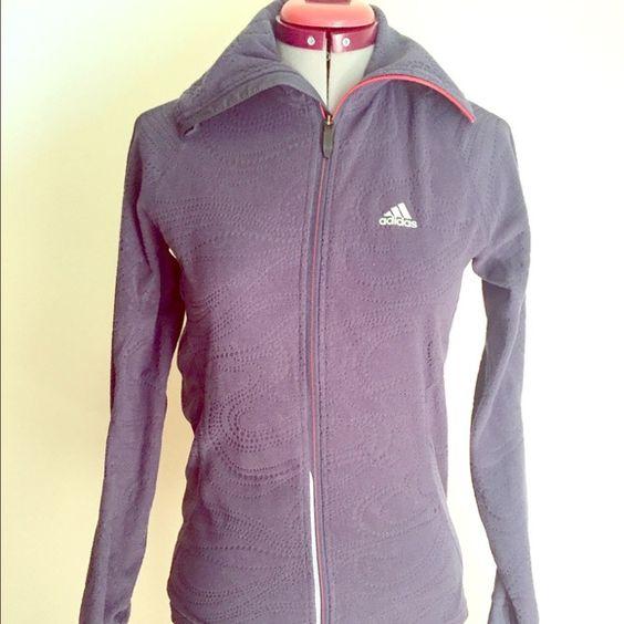 Adidas Women's Fleece Running Jacket Adidas Women's Fleece Running Jacket Adidas Jackets & Coats