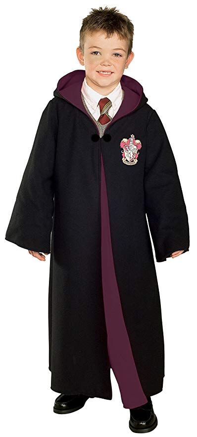 Large Rubies Costume Co Harry Potter Childs Costume Robe